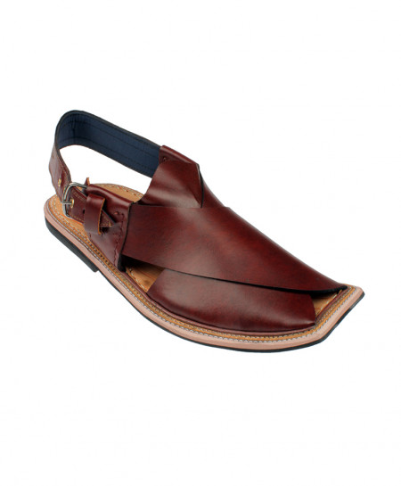 Brown Casual Peshawari Chappal MZ-017