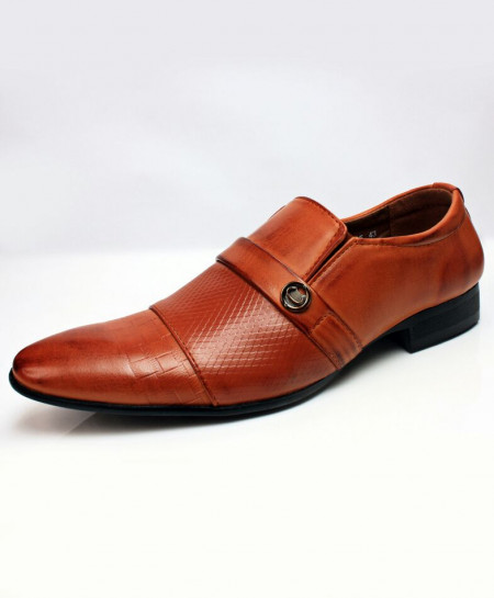 Mustard Slip On Design Stylish Formal Shoes CB-2161