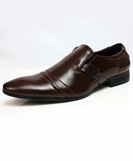 Brown Slip On Design Stylish Formal Shoes CB-2162