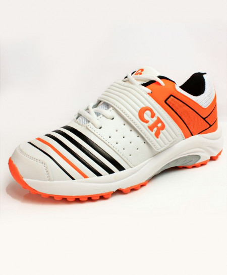 White Orange Tipping Stylish Sports Shoes DR-322