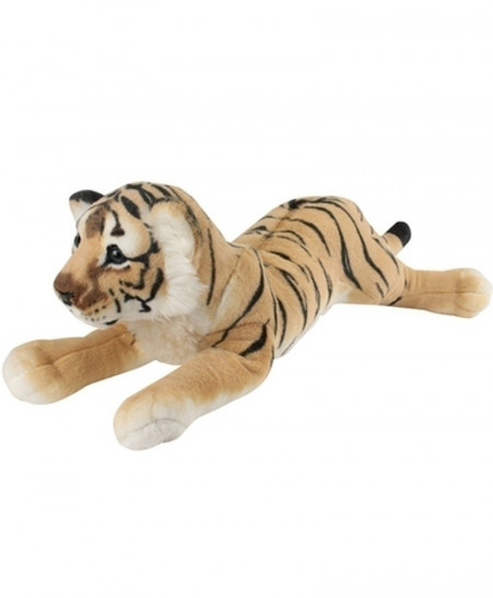 Yellow Tiger Soft Stuffed Tiger Plush Toys Pillow