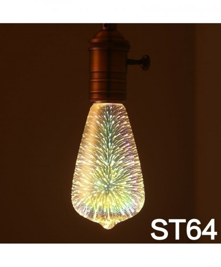 MingBen ST64 Led Light Bulb