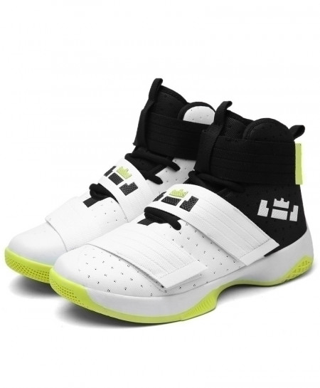 Bjakin White Basketball Ankle Anti-Slip Boots