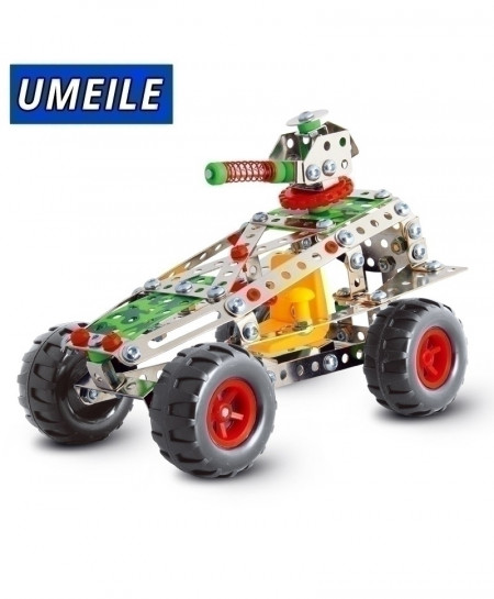 UMEILE 3D Metal Puzzle Off-Road Vehicle Car Assemble Screw Toys Build Play Model B