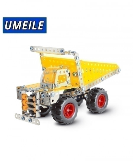 UMEILE 3D Metal Puzzle Off-Road Vehicle Car Assemble Screw Toys Build Play Model D