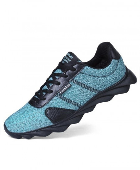 Blue Mesh Breathable Trainers Running Sport Shoes