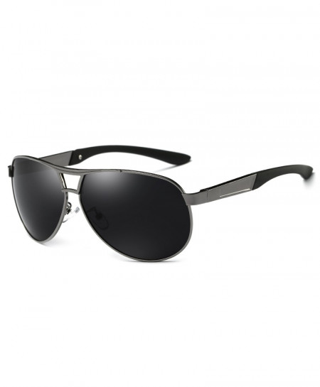 HDCRAFTER Silver Polarized UV400 Sunglasses