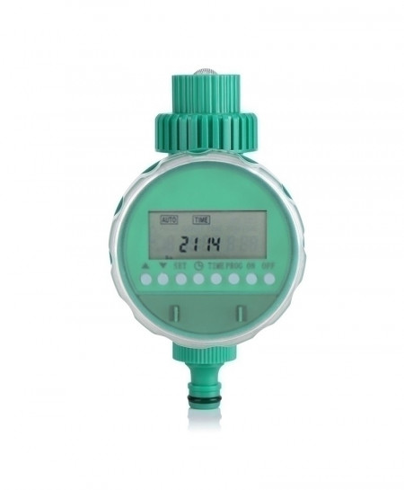 LCD Display Automatic Intelligent Electronic Rubber IrrigationGarden Water Timer