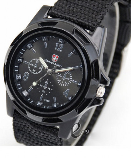 Black Army Men Watch