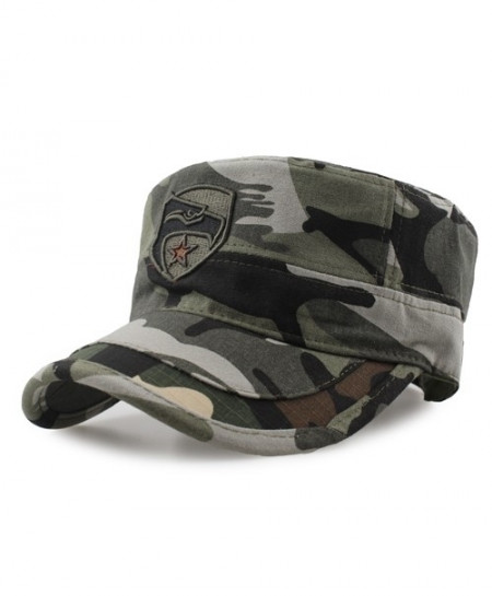 Camouflage Hunting Fishing Eagle Flat Cap