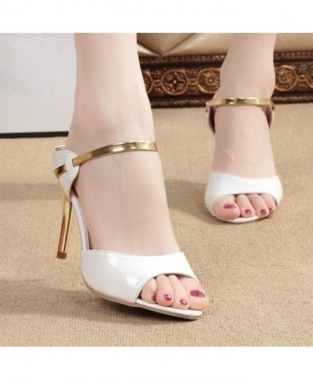 White High Heels Pumps Shoes