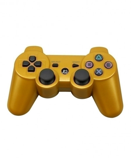 Yellow 2.4G Wireless Bluetooth Game Controller Remote