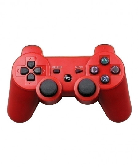 Red 2.4G Wireless Bluetooth Game Controller Remote