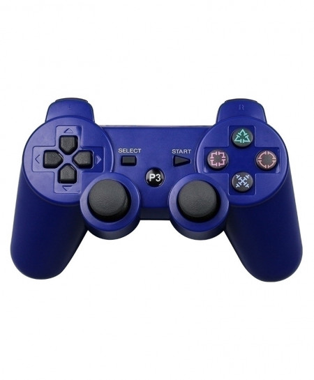 Blue 2.4G Wireless Bluetooth Game Controller Remote