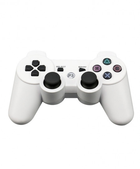 White 2.4G Wireless Bluetooth Game Controller Remote