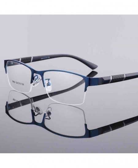 Blue Spectacle Frame Silhouette Optical Frame