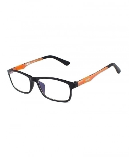 Reven Jate Orange Flexible Super Light Optical Frame
