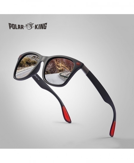 POLARKING Polarized Plastic UV Protection Designer Travel Sunglasses