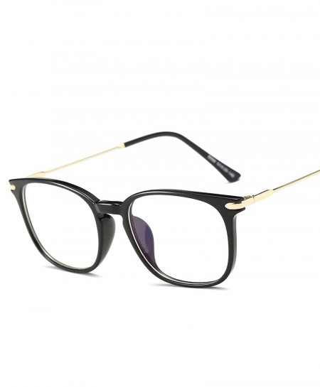 VCKA Rich Black Anti Blue light Radiation Resistant TR90 Optical Frame