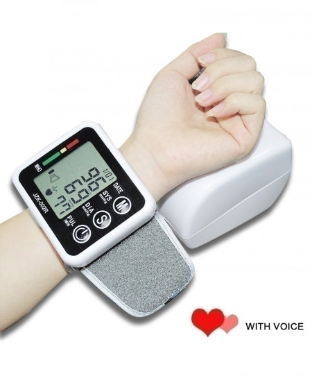 Wrist Sphygmomanometer Automatic Blood Pressure Monitor