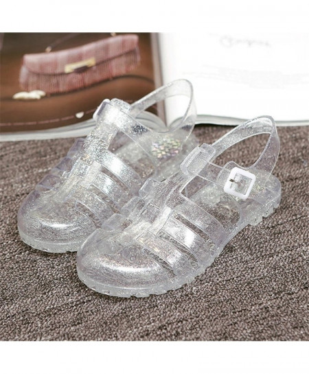 Crystal Casual Jelly Ladies Sandals