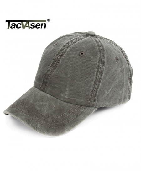 TACVASEN Army Green Denim Sniper Cap
