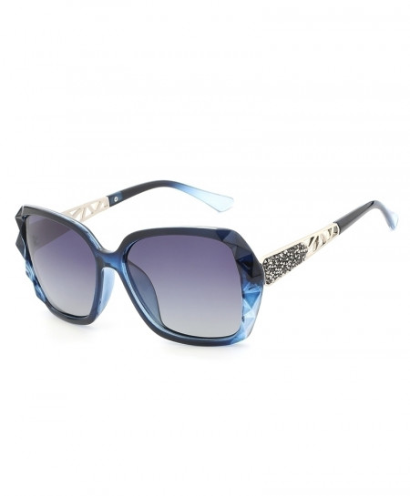 HDCRAFTER Blue Luxury Brand Design Polarized Sunglasses