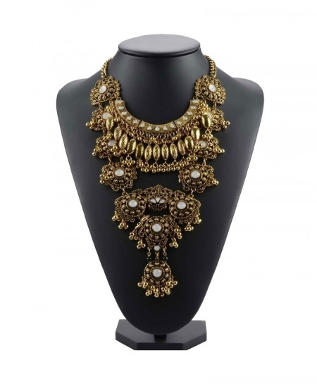 Golden 6 Gypsy Vintage Maxi Jewelry Trendy Collar Ethnic Bohemian Choker Necklace