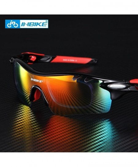 Red 5 Lenses Cycling Polarized Sunglasses