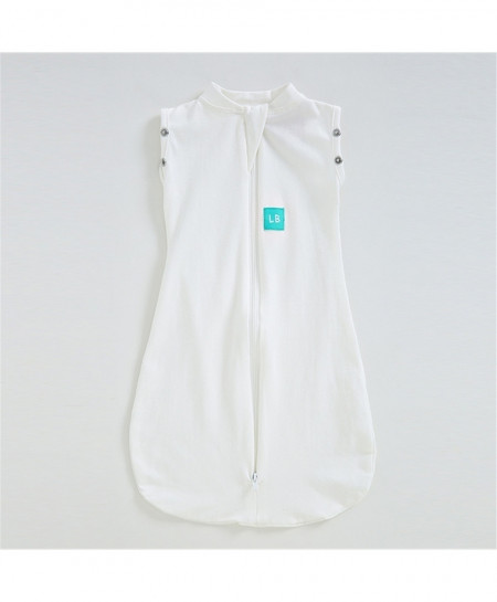 White Baby Sleeveless Sleeping Bag