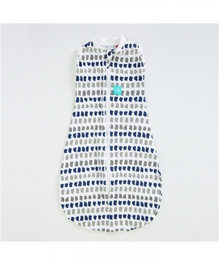Blue Printed Baby Sleeveless Sleeping Bag