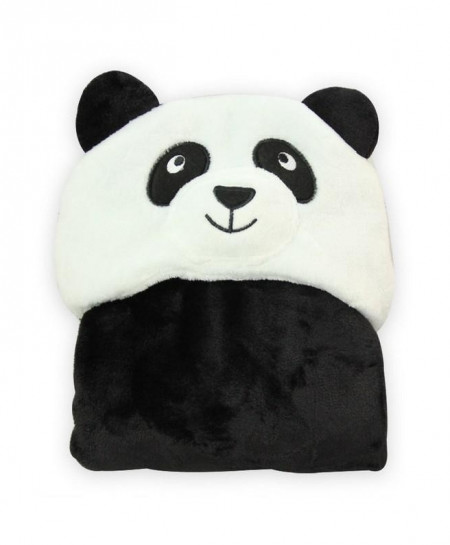 Panda Flannel 3D Hooded Blanket Baby Blanket Sleeping Bag For Newborns
