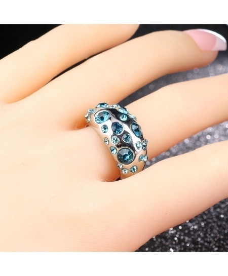 Kinel Blue Crystal Ring