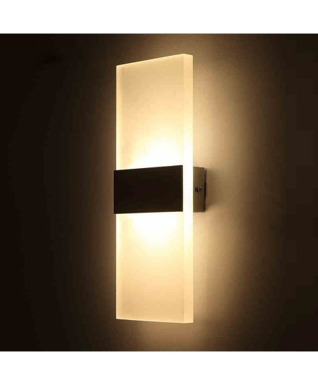 Led Acrylic Wall Mounted Sconce Lights Lamp