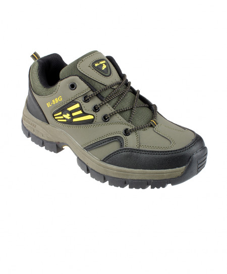 Green Breathable Hiking Shoes SPK-085