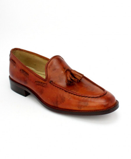 Corio Double Tone Tassel Up Loafer CSO-JC-170