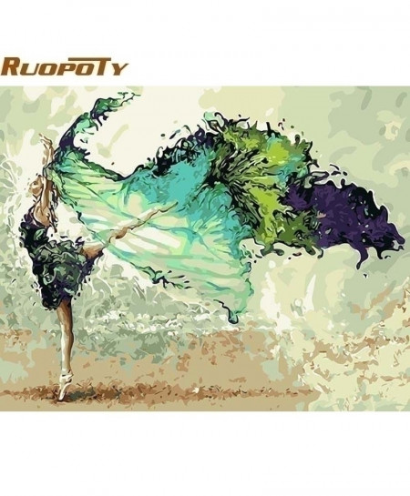 RUOPOTY Frame Dancing Figure Painting