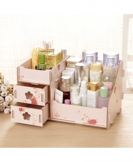 Spring Flowers Multi-Function Table Sundries Container Storage Box