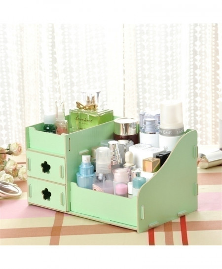Green Multi-Function Table Sundries Container Storage Box