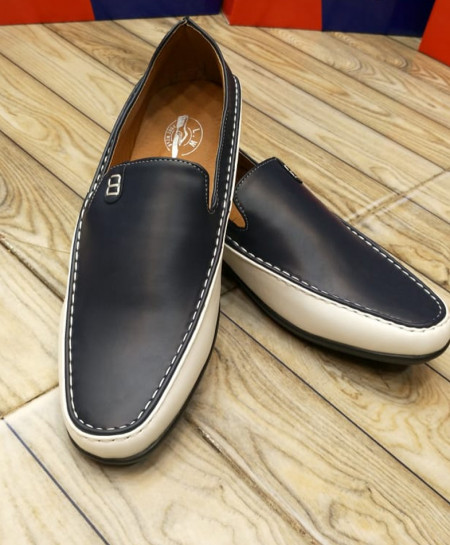 Ink Black Slip On Stylish Loafers LW-7136