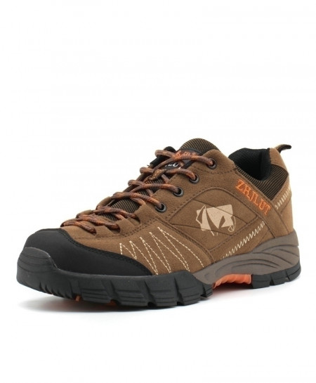 ZHJLUT Brown Sport Anti-Slip Breathable Comfortable Hiking Shoes