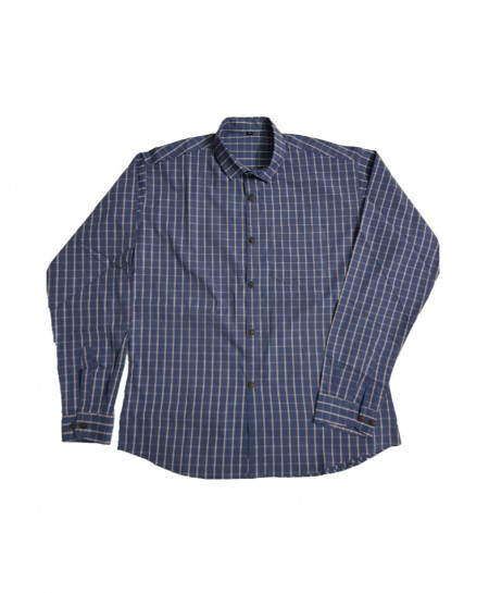 Blue Cotton Shirt PSM-590