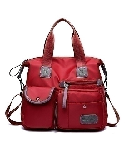DIZHIGE Red Waterproof Designer Big Capacity Shoulder Bag