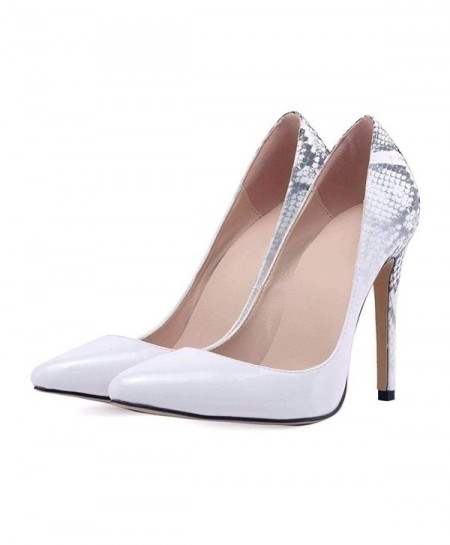 White High Heels Shoes New Pointed Toe Pumps Shoes