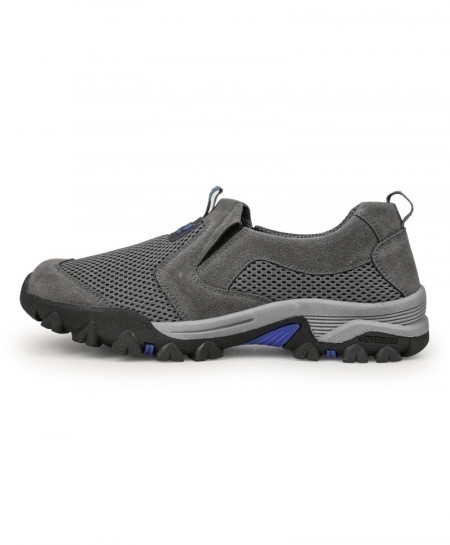 ALEADER Gray Breathable Slip On Shoes