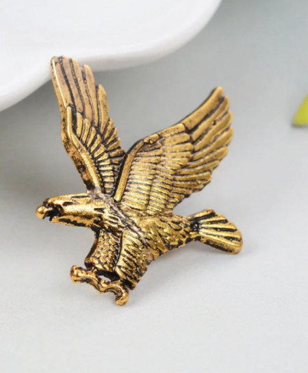 Elegant Eagle Brooch