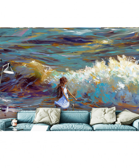 3D Modern Artistic Oil Painting Wallspiration BNS-149