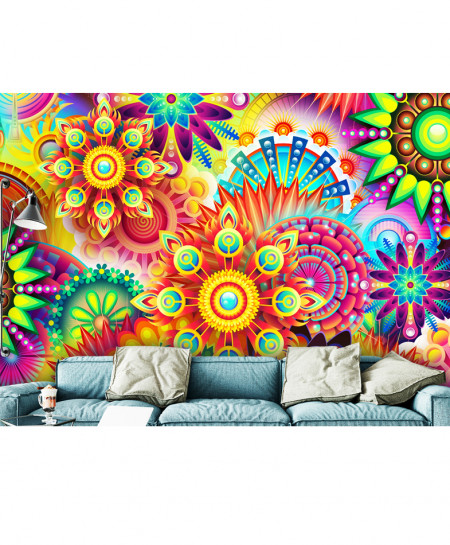 3D Modern Colorful Pattern Wallspiration BNS-160
