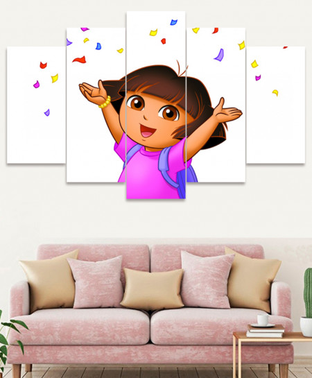 Dora The Explorer Canvas Wall Frame SA-02