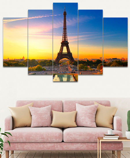 Eiffel Tower Canvas Wall Frame SA-20